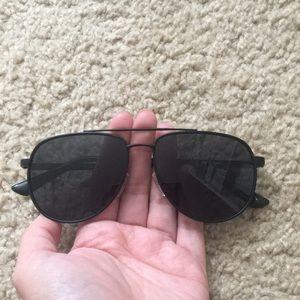 f1ecef7539a Le Specs Accessories - Le Specs hard knock black on black Aviators